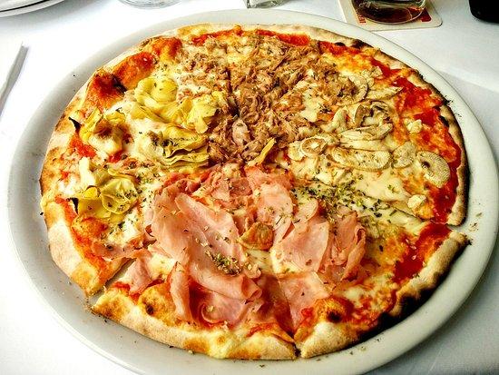 Four Seasons Pizza - Bild von Ponte Vecchio, Düsseldorf - TripAdvisor