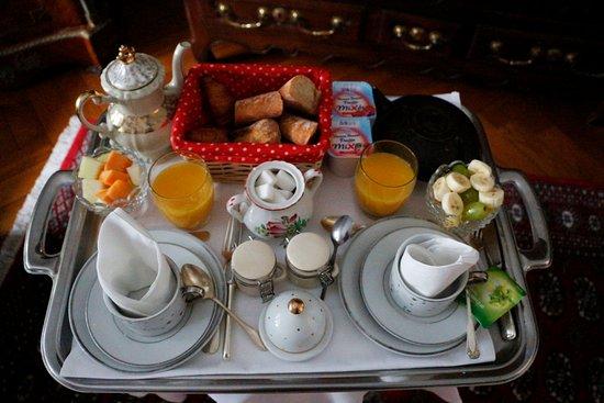 villa katz plateau petit dejeuner