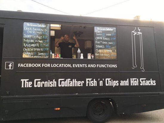 Image result for the cornish codfather van
