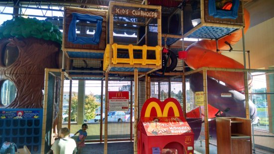 Fast Food Restaurants Play Areas