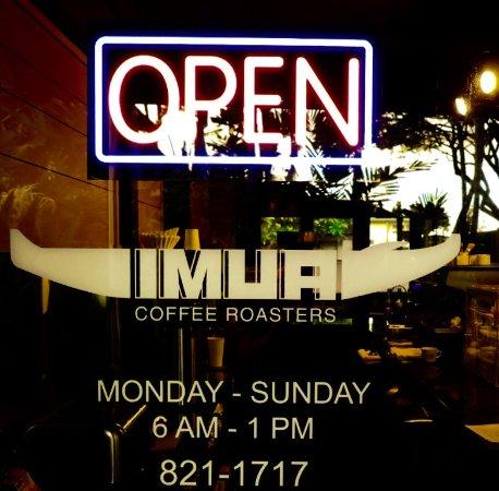 Imua Coffee Roasters, Kapaa - Omdömen om restauranger ...