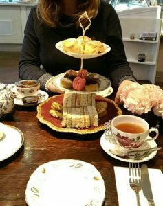 Afternoon tea for two   Picture of Fait Maison  London   TripAdvisor Fait Maison  Afternoon tea for two