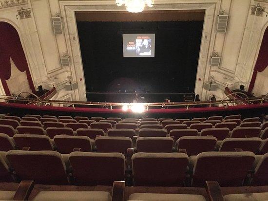 Map Opera House Seating Detroit
