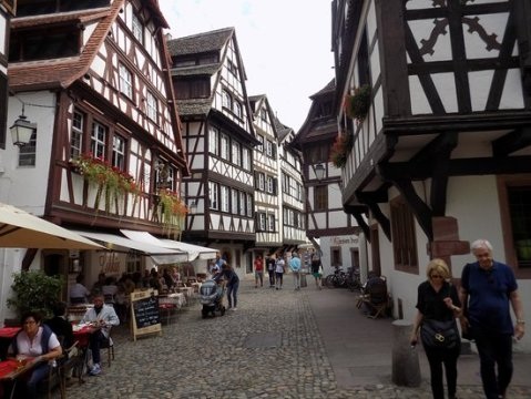 Street view   Picture of La Petite France  Strasbourg   TripAdvisor La Petite France  Street view