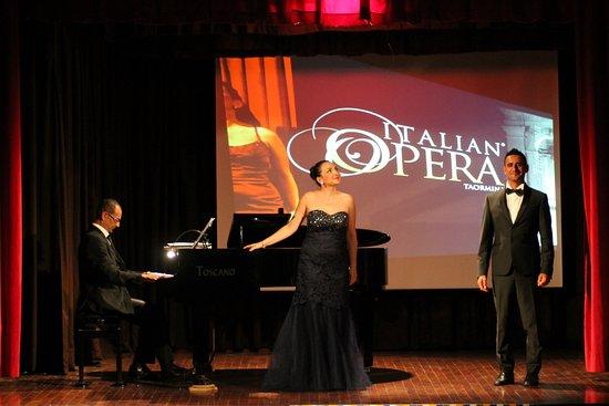 Итальянская опера в Таормине