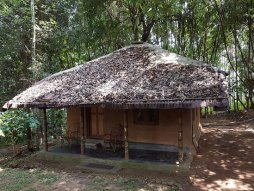 A THATCHED HUT - Picture of Blooms Green Farm, Kenichira - Tripadvisor