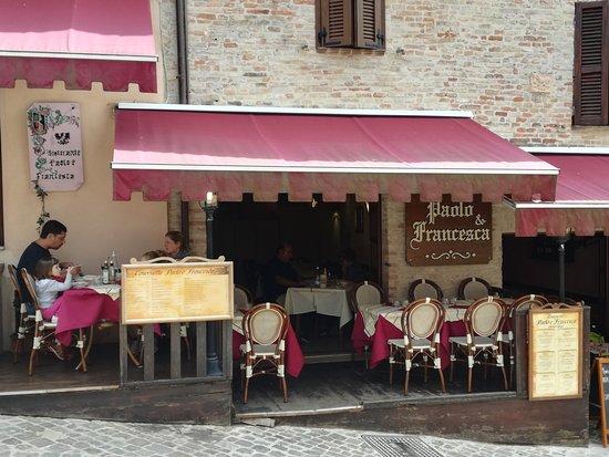 Taverna Picture Of Tavernetta Paolo E Francesca Gradara