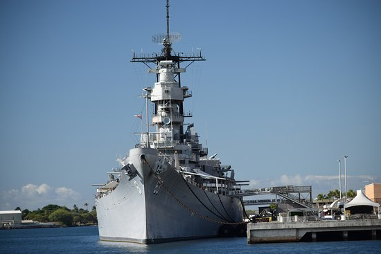 Taken from the USS Arizona memorial - Picture of ...