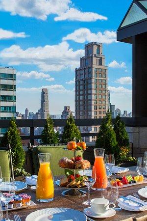 Four Seasons Hotel New York Gotham Junior Suite With Terrace