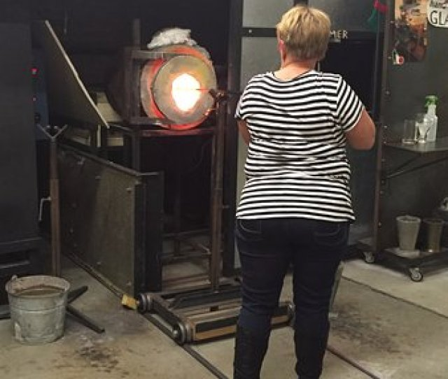Central Glass Works Glory Hole