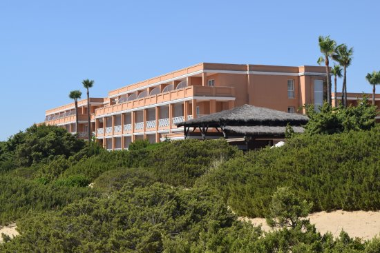 Hotelanlage Picture Of Hipotels Barrosa Park Chiclana
