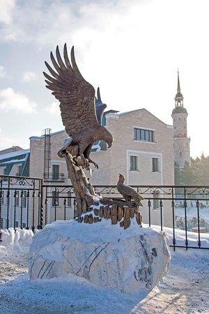 Башня-колокольня с часовней Святителя Иоанна Златоуста ...