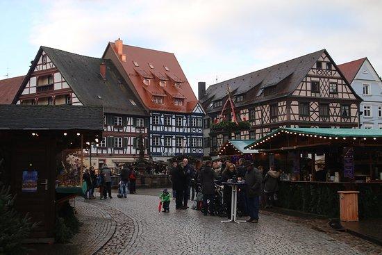 historische altstadt gegenbach marche de noel