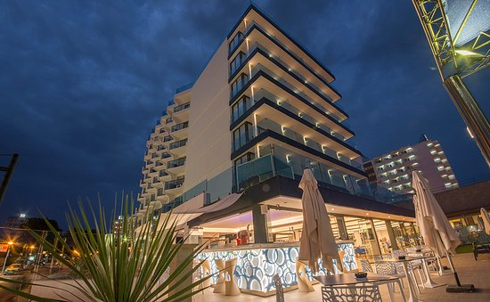 tolles hotel direkt am strand