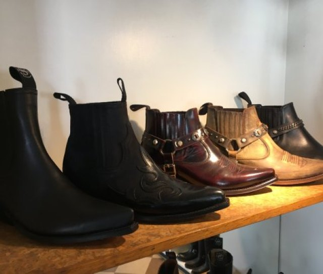 The Leather Smith Womens Fashion Cowboy Boots
