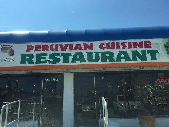 el patio peruvian restaurant at 4444 s