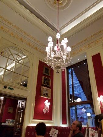 Cafe Sacher Wien Decor