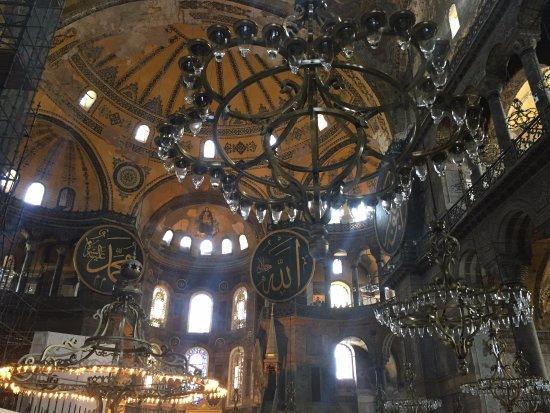 Hagia Sophia Museum Church Ayasofya Chandeliers