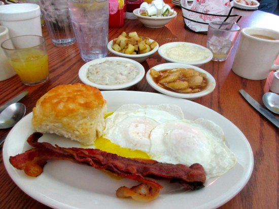 Applecider Smoked Bacon Full Breakfast Picture Of
