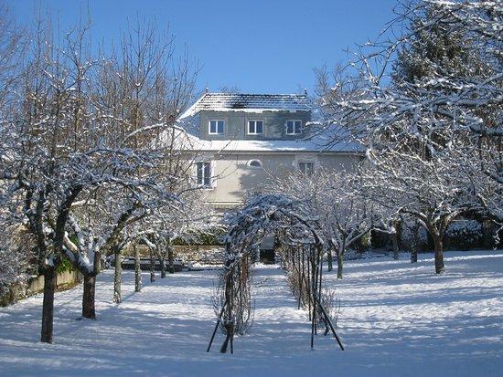 Villa Et Jardin Enneige Picture Of Villa Du Parc Ecole