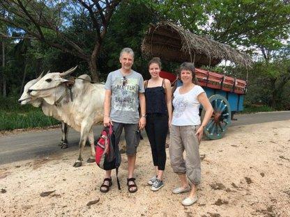 Bullock Cart Ride at Sigiriya. - Picture of Fingara Holidays ...