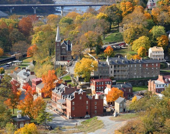 Image result for Historic Harpers Ferry, West Virginia