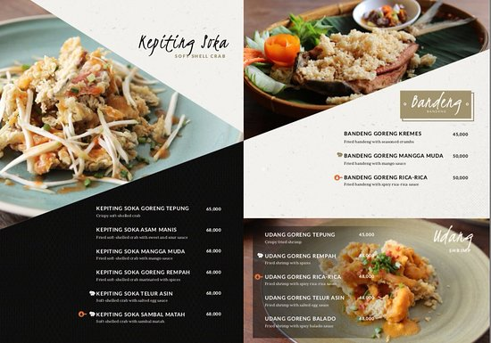 Our Ala Carte Menu Foto Warung Ipang Bali Kuta Tripadvisor