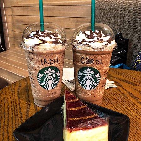 Starbucks drinks and cake - Picture of Starbucks, Bintulu - Tripadvisor