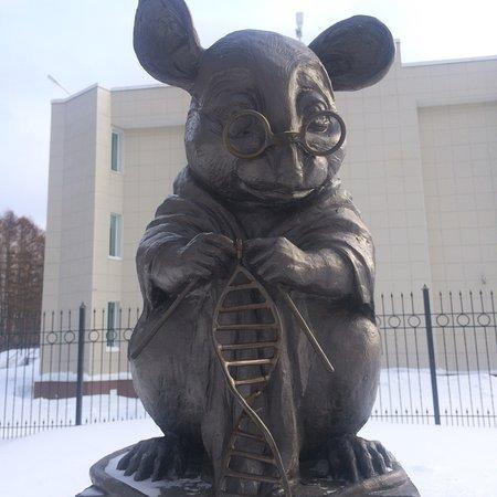 Памятник Лабораторной Мыши - Picture of Monument of ...