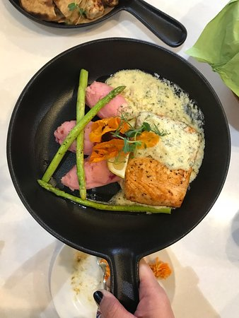 Milas Restaurant Creamy Salmon Fillet My Favorite Main Course