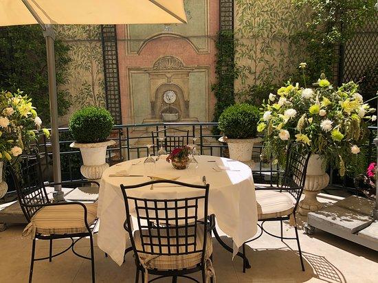 El Jardin de Orfila por Mario Sandoval: Terraza del Jardín de Orfila