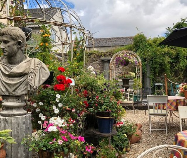 Number Fourty Nine How Wonderful To Discover This Italianate Garden At The Rear Of The