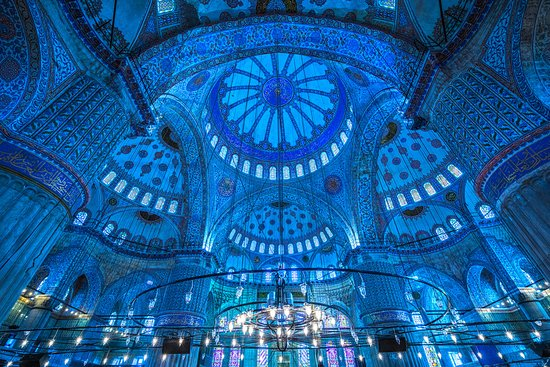 Beautiful Iznik tiles and designs. - Review of Blue Mosque ...
