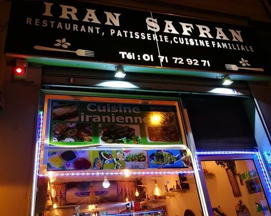 IRAN SAFRAN, Paris - 11e Arr. - Popincourt - Menu, Prix & Restaurant Avis -  Tripadvisor