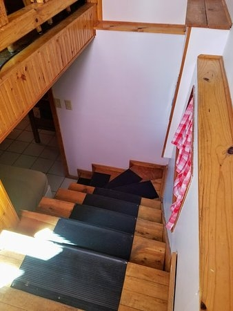 Cabin 2 Sportsman S Lodge Stairs To Basement Picture Of Hidden | Hidden Stairs To Basement | Wine Cellar | Channel Zero | House | Walkout | Too Steep
