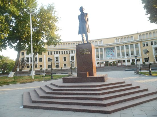 Monument to Alexander Sergeevich Pushkin, Ташкент: лучшие ...