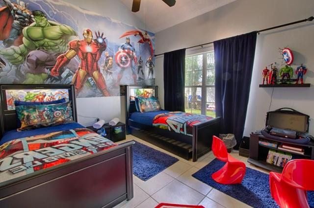 Magical Clubhouse Avengers Bedroom