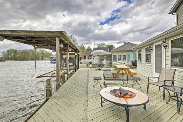 Chippewa Cottage w/ Patio & Dock on Indian Lake! UPDATED ...