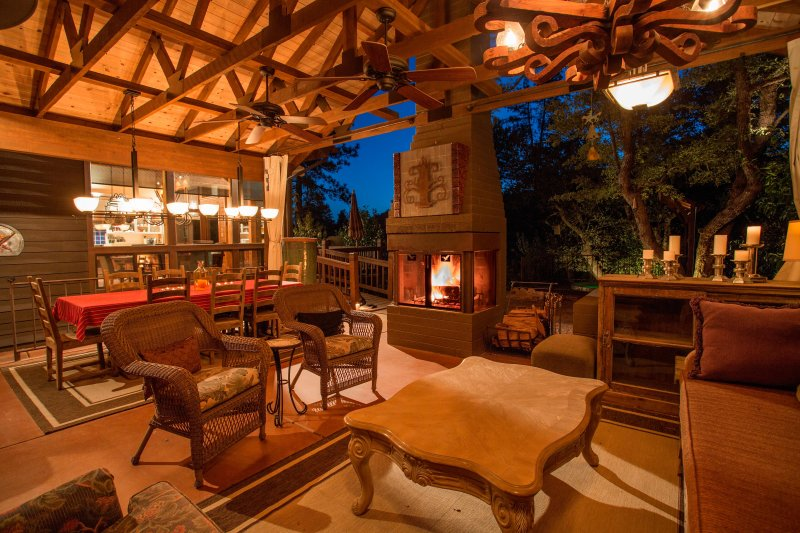 TripAdvisor - Dancing Bear Lodge, Pine AZ; Luxury Cabin ... on Outdoor Living Spa id=13223
