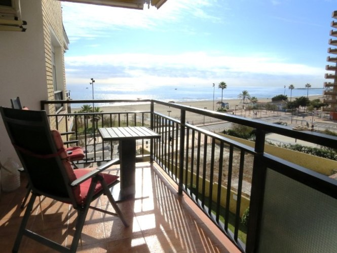 Ref 228 Los Boliches Beachfront 1 Bedroom Apartment In Ronda 2 With Pool