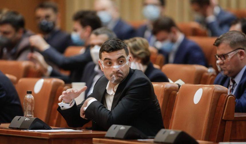"""George Simion (AUR): """"Vor austeritate, dar doar pentru căţei. În Parlamentul României sunt prime peste prime, secretare peste secretare"""""""