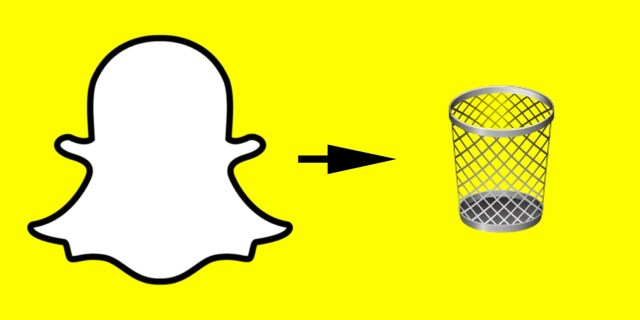 How to delete Snapchat accounts in 17