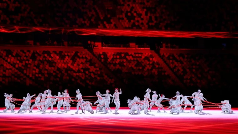 Image: Tokyo 2020 Olympic Games Opening Ceremony