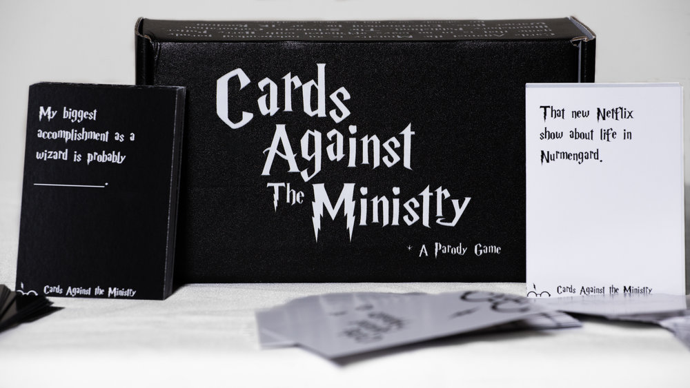 Cards Against the Ministry