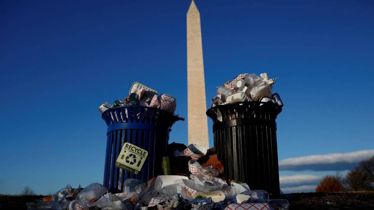 national mall trash