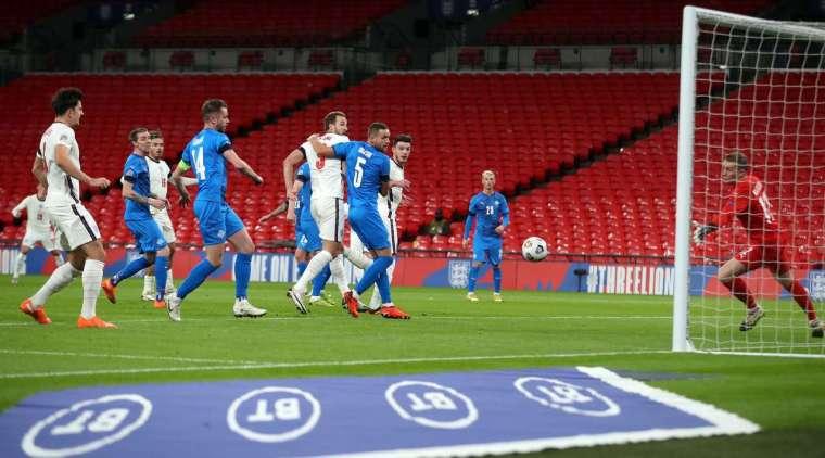Football: England vs Iceland (UEFA Nations League) Highlights. November 19, 2020