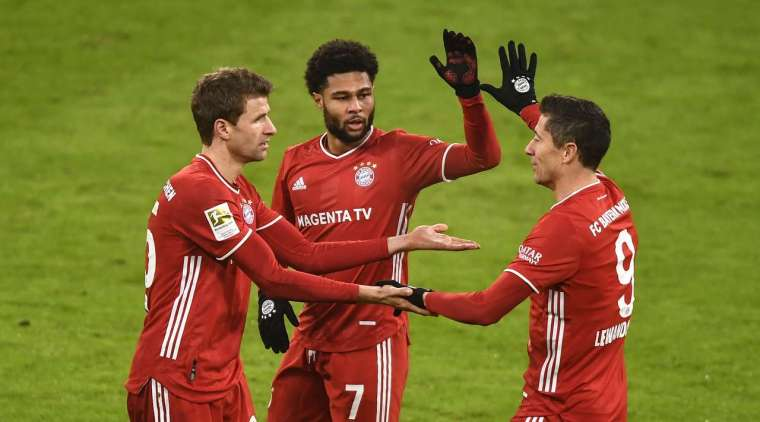 Bayern Munich vs Wolfsburg Highlights GERMANY: Bundesliga - Round 12