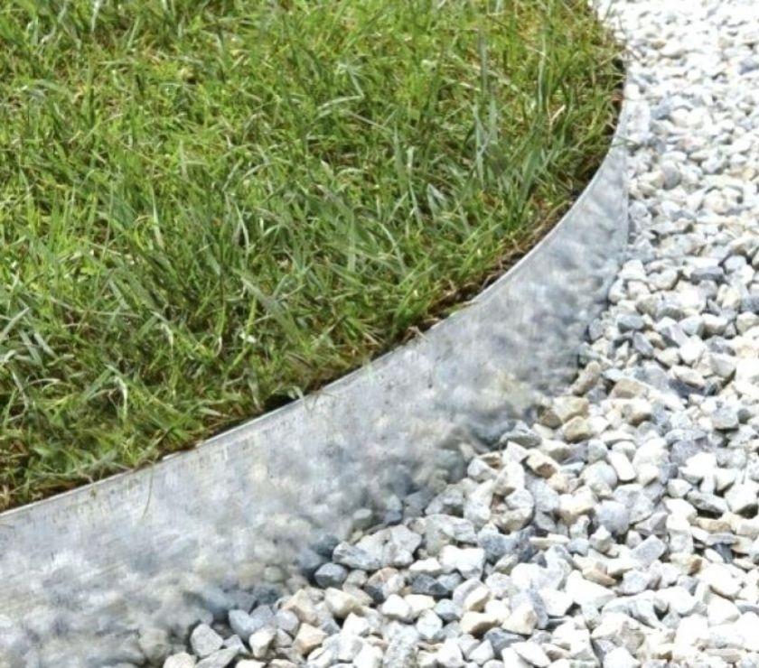 bordures de jardin en acier galvanise