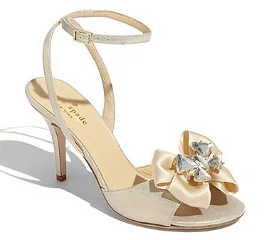 Kate Spade New York Shelby' Satin Sandal, $345, nordstrom.com