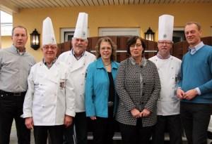 Rainer Haulsen, Hauptgeschäftsführer CDU, Otto Meurer, Heike Franzen MdL, Dr. Sabine Sütterlin-Waack MdB, Info Sörnsen, Johannes Callsen MdL (von links)